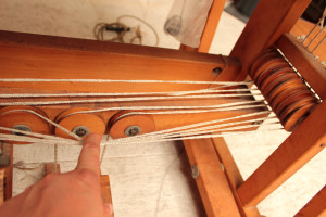 Tracking treadle cords 4