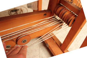 Tracking treadle cords 5