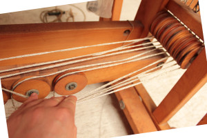 Tracking treadle cords 6