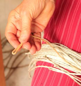 Tying up 7 tie up cords loop