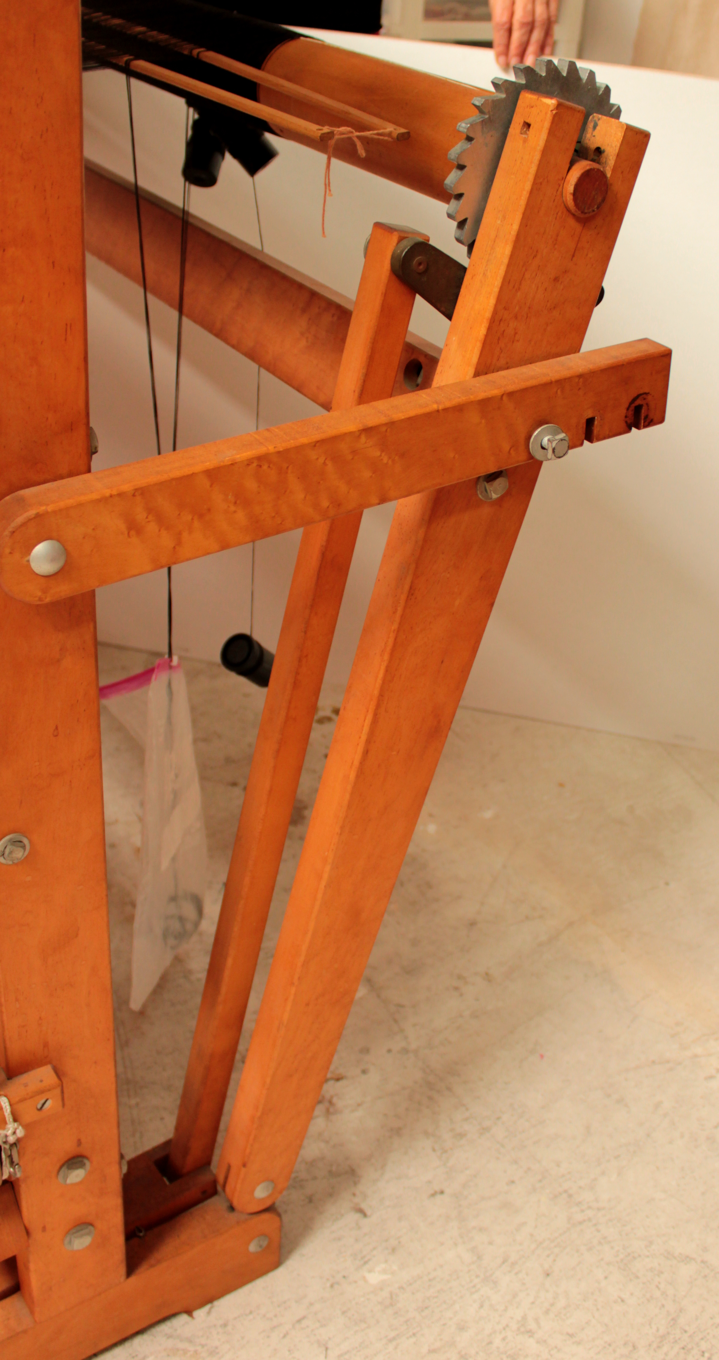 Tension and Brakes - Ahrens Looms