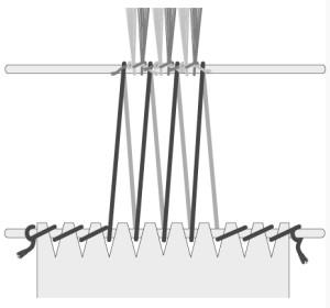 Unbent apron rod - Ahrens